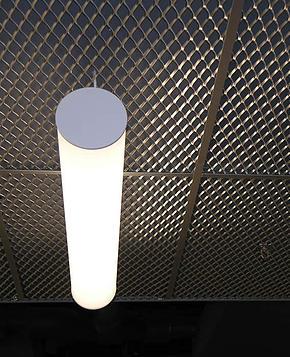 таван с просечена ламарина