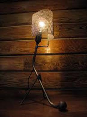 лампа с просечена ламарина 10х5 мм
